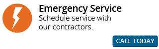 Emergency Service | Schedule service with our contractors. | Call Today